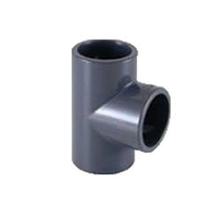 PVC ragasztható (nyomócső) idomok - T-idom