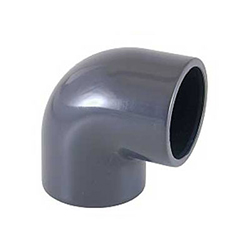 PVC ragasztható (nyomócső) idomok - 90° ív